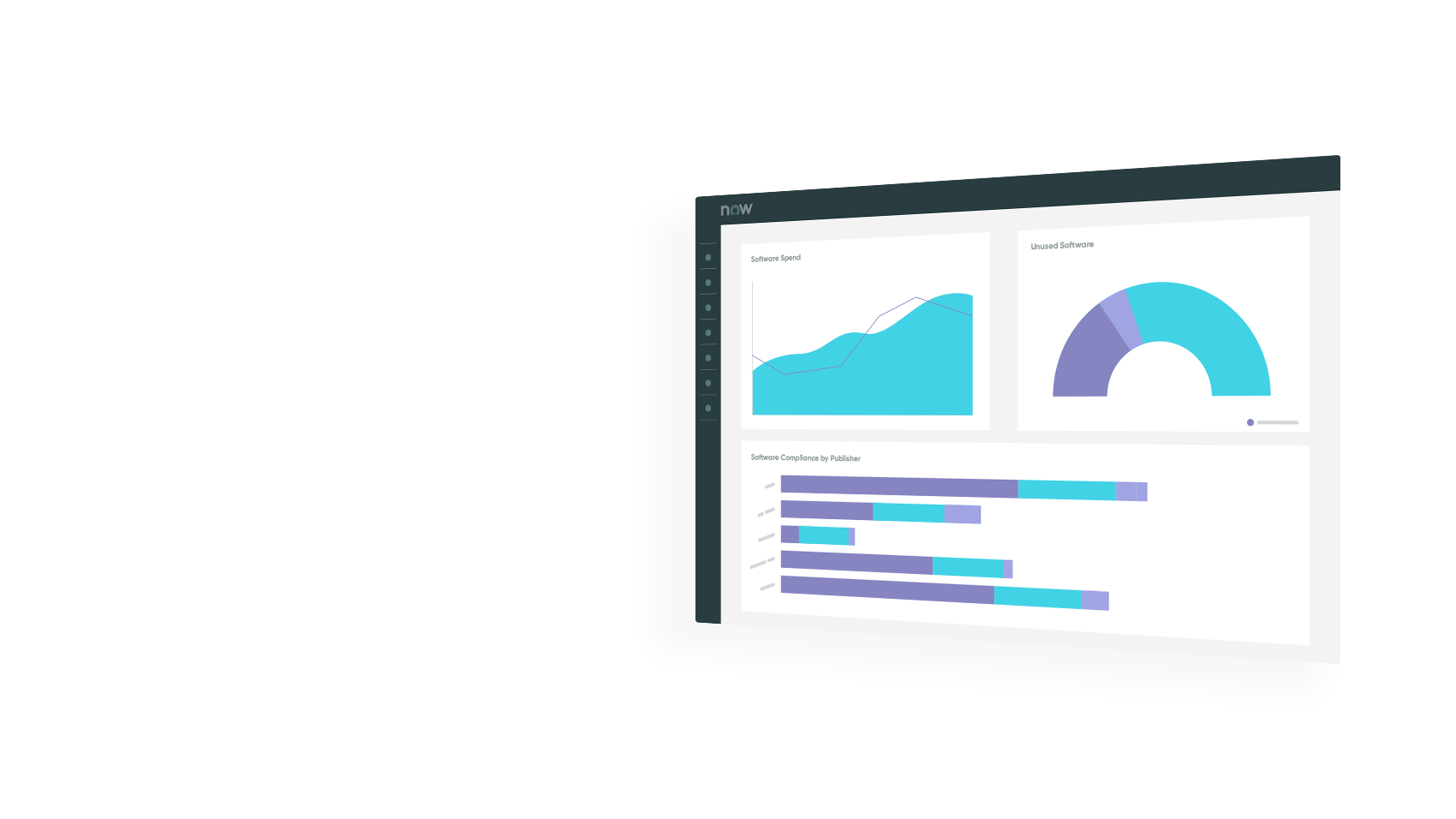 Use ServiceNow IT Asset Management dashboards to manage your entire IT asset lifecycle